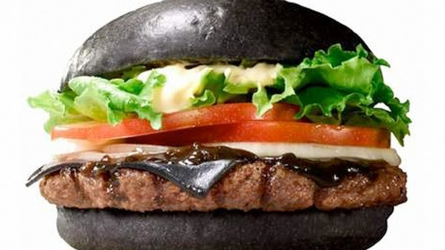 The Kuro Diamond Burger adds all the fixings.