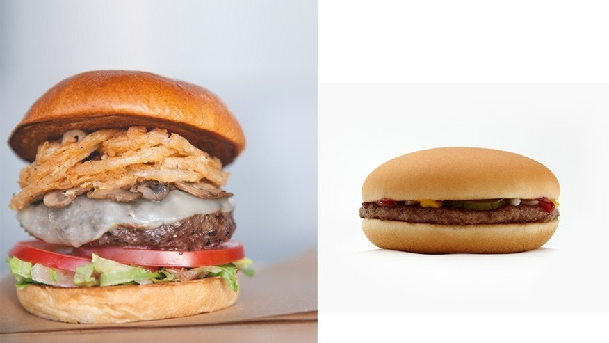 Premium or classic fast food: Which burger do you prefer?