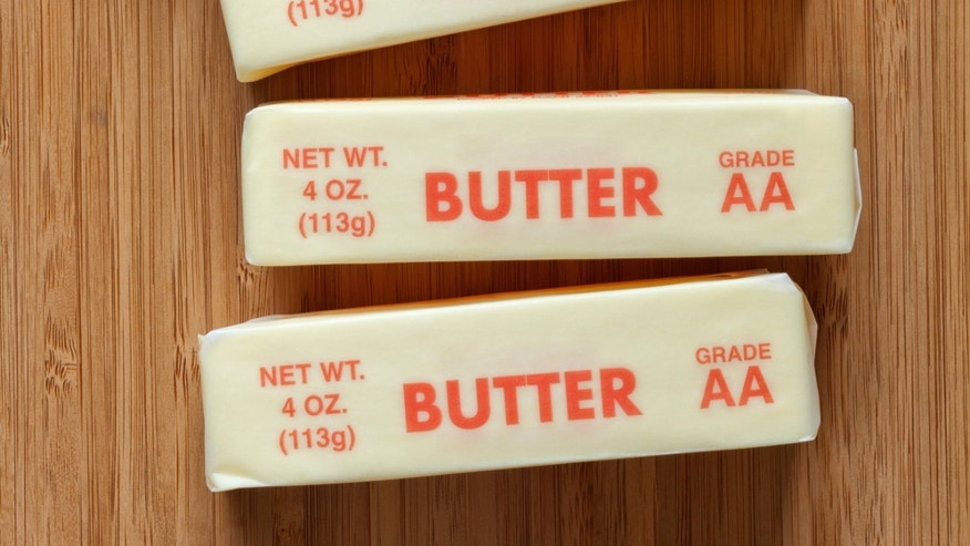 Butter stick prices are soaring.