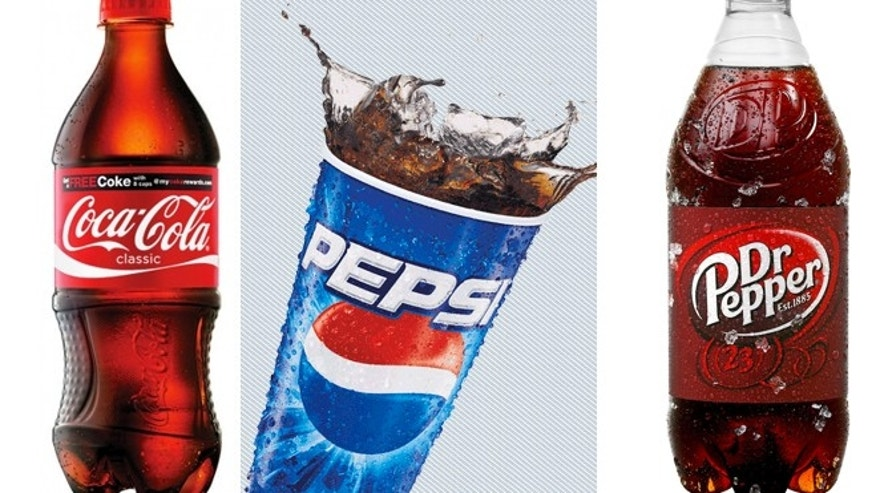 Coke, Pepsi and Dr Pepper said Tuesday they'll work to reduce the calories Americans get from beverages by 20 percent over the next decade.