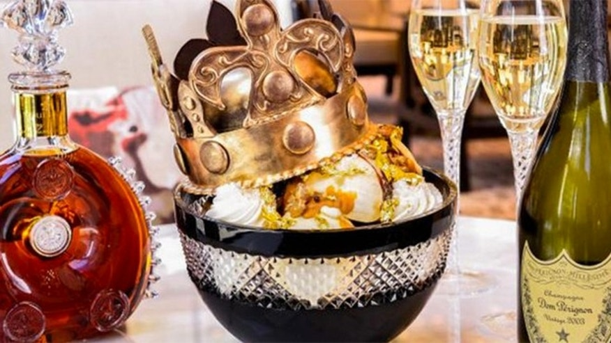 Chicago's Langham hotel is serving the $1000 Victoria sundae.