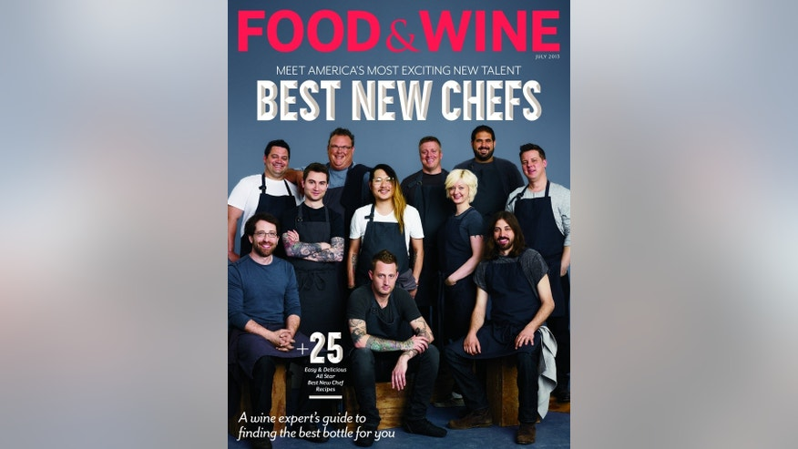 "Few women featured on last year's ""Best New Chefs"" issue."