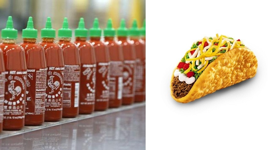 Taco Bell is testing spicy new Sriracha laden dishes.