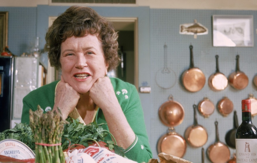 Throughout history, food revolutionaries have transformed the way we look at food.  One such revolutionary is Julia Child.  Child, an unlikely television star, kicked off the vast food entertainment industry when she appeared on Boston educational TV to promote her new cookbook.  Viewer feedback was tremendous, and Child soon had her own show.  She was fun.  She made mistakes.  She opened up America to new tastes, and allowed Americans to demand more from their dinner plates.