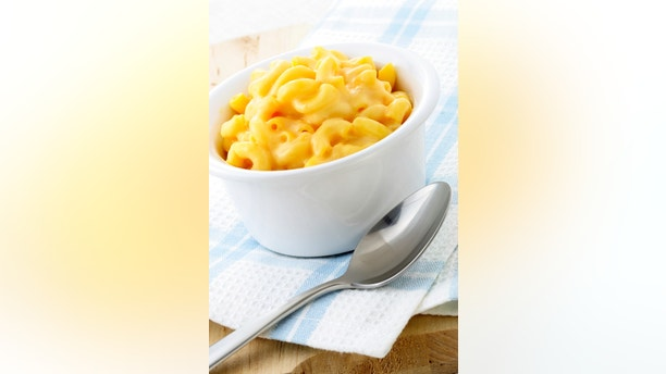 Delicious mac and cheese made with a smooth, creamy sauce. This macaroni and cheese family favorite is always a welcomed addition for lunch or at dinnertime.