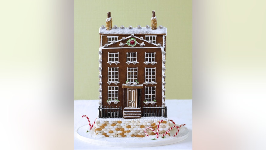 'The Most Precious Christmas Gingerbread House Ever' costs $77,910, and is made with 150 AAAA grade South Sea Pearls and a 5 carat unheated Mozambique Ruby set within the icing.