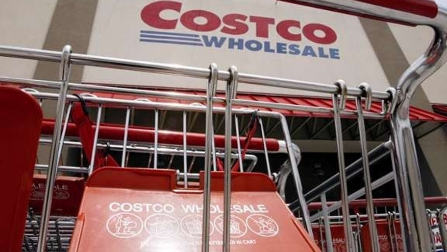 A California couple wed at Costco over the weekend.