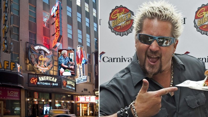 Guy Fieri's Times Square restaurant is hosting a pricey New Year's Eve bash.
