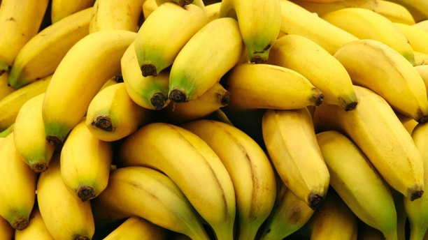 This is a close-up of bananas.