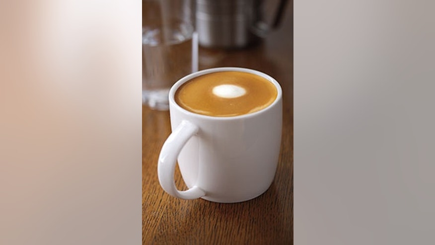 A Flat White beverage tastes similar to a traditional latte.