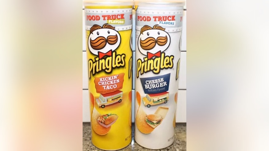 Pringles has rolled out two new Food Truck themed chips.