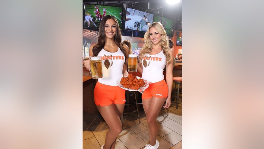 "Cold beer and hot wings: Hooters is considered by many to be the original ""breastaurant."""