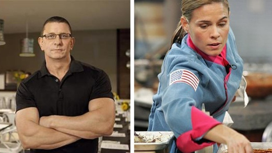 Chefs Robert Irvine and Cat Cora are known for their fierce personalities in the kitchen.