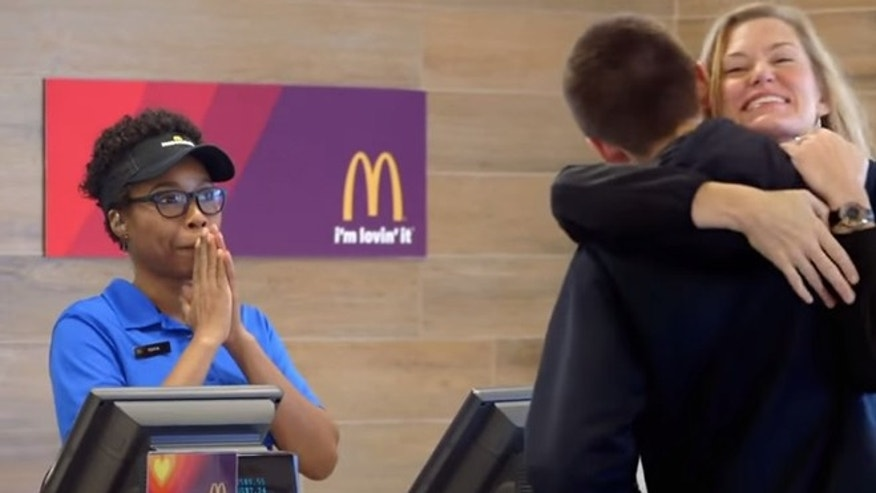 "Cut but unoriginal: McDonald's ""Get lovin' give lovin'"" campaign in action."
