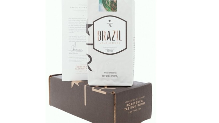 "The coffee chain said Tuesday it will offer subscription delivery of ""super-premium, small-lot coffees."""