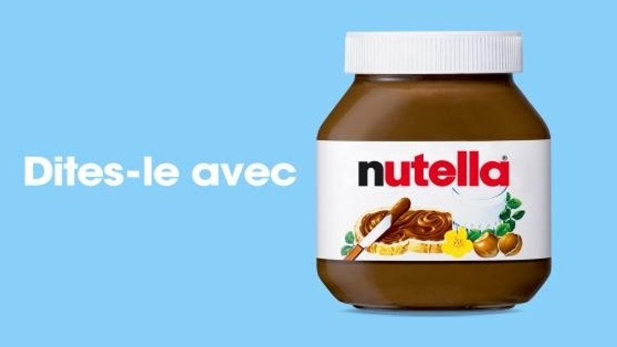 There is a growing list of words that have been banned from Nutella's latest personalized marketing campaign.