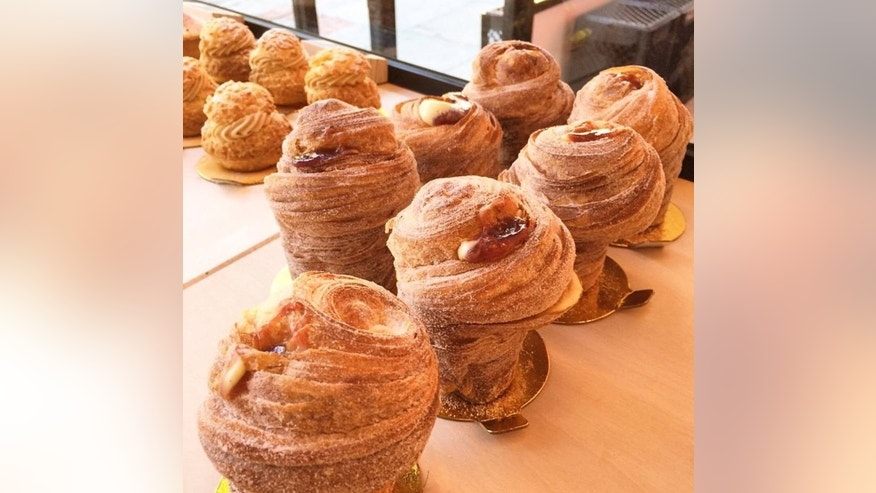 Cruffins regularly attract long lines outside of this San Francisco bakery.