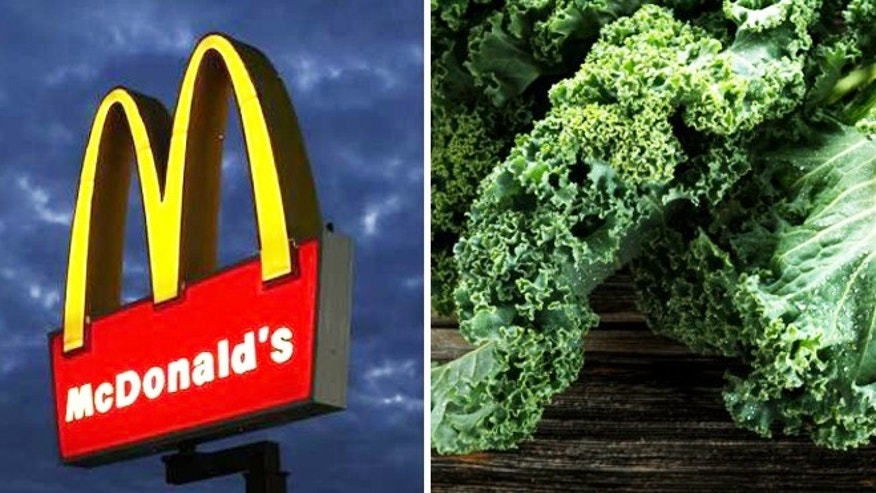 McDonald's may be diversifying its menu after all.