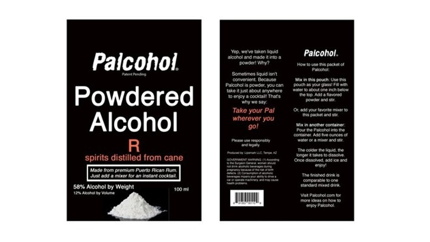 Palcohol receives the greenlight from the Alcohol and Tobacco Tax and Trade Bureau.