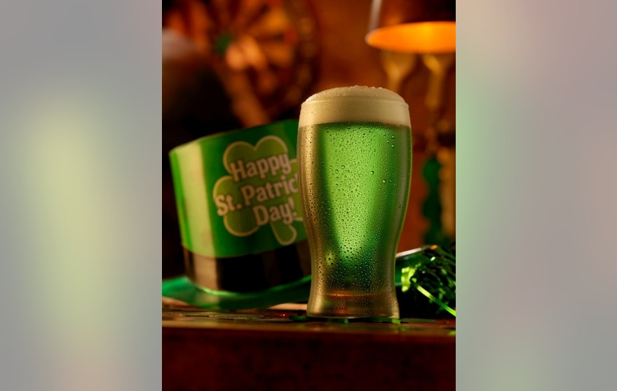 Does green beer really give you luck?