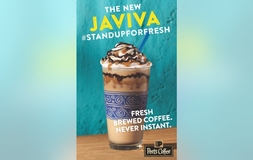 Peet's is rolling out a new iced drink that's made from fresh brewed coffee.