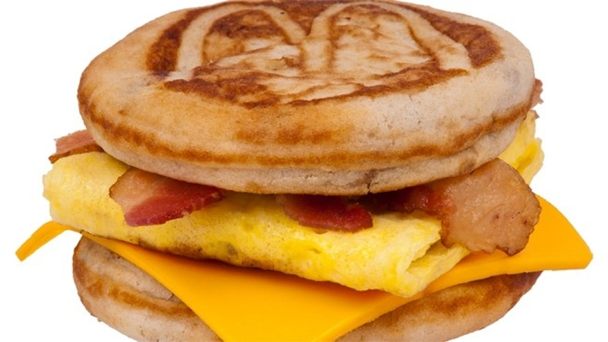 McDonald's all-day menu will be limited to just nine breakfast items.