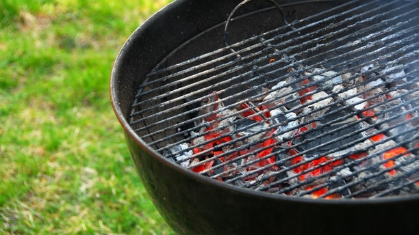 Wood burning barbeque