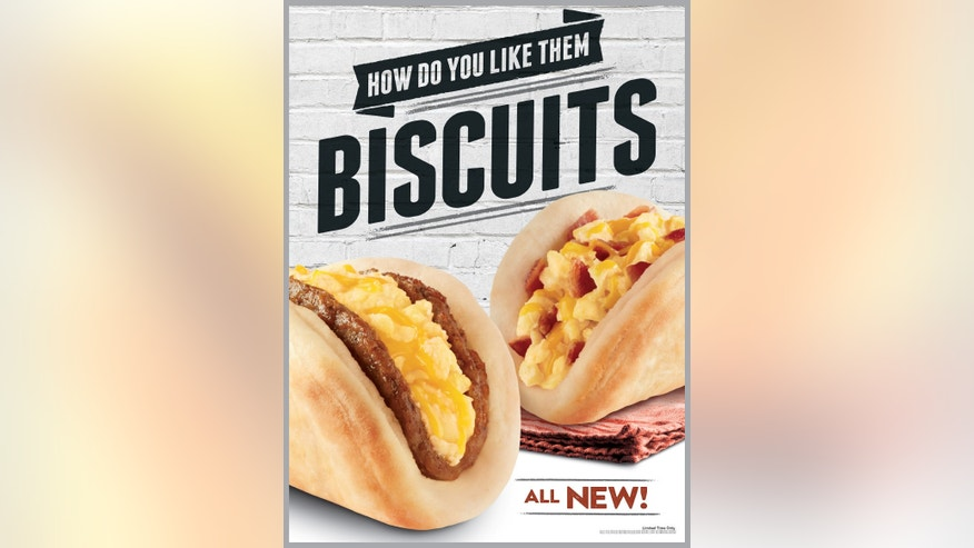 Taco Bell will add biscuit tacos to its breakfast menu starting 3/26.