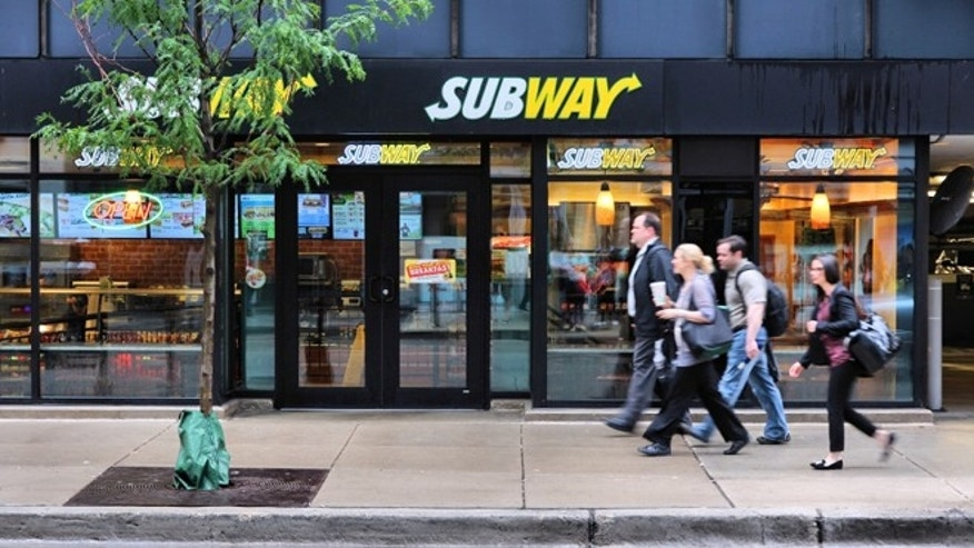 Subway is arming itself against store thieves.