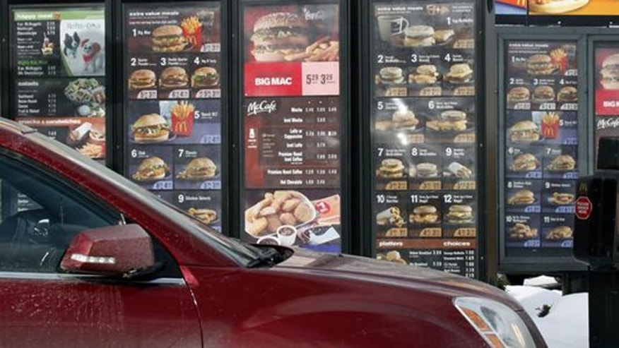 These full-scale menus will be a thing of the past at McDonald's drive-thru windows.