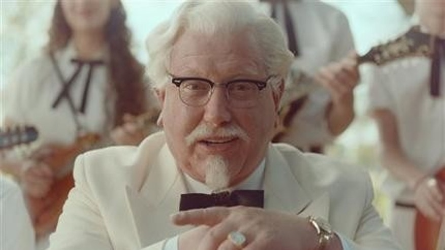 """Saturday Night Live"" alum Darrell Hammond stars as Colonel Sanders in a new KFC television ad."