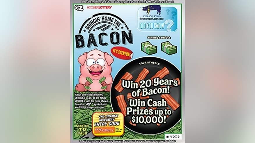 Bacon lovers now have a scratch-off game just for them.