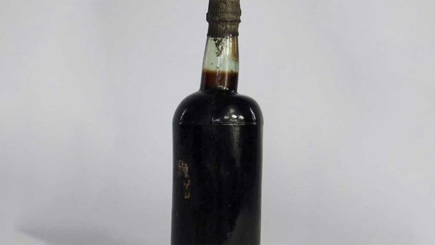 This 140-year-old bottle of ale just sold at auction for over $5000.