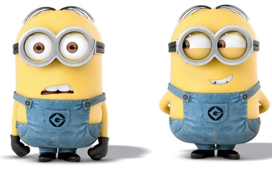 "Some parents hear the minion toys saying, ""What the F-,"" (expletive) followed by ""All be damned."""