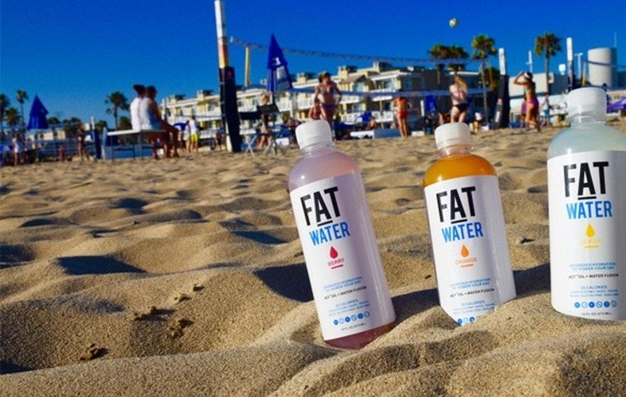 Asprey says that FATwater has healthy fats that allow for better hydration.