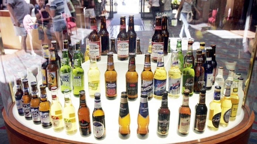 Hundreds of beers come from a handful of companies.