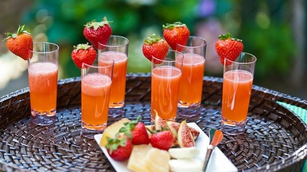 Make your party sizzle with these fruity shots.