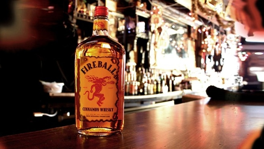 Fireball Whisky is the most popular liquor brand in 15 states.