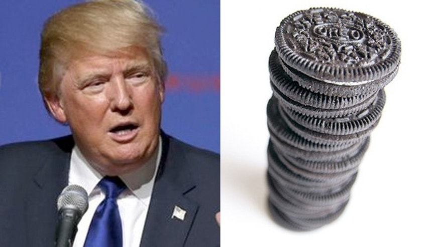 """""""I'm never eating Oreos again,"""" Trump said, unless they were made in the U.S."""