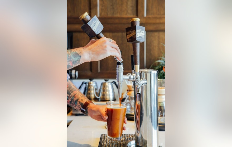 Stumptown has been serving nitro coffee on tap for almost two years.