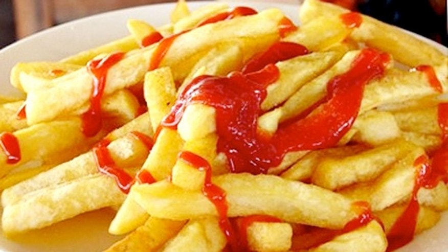 Potatoes and tomatoes make up half of all the vegetables Americans eat–and are often eaten in the form of french fries and ketchup.