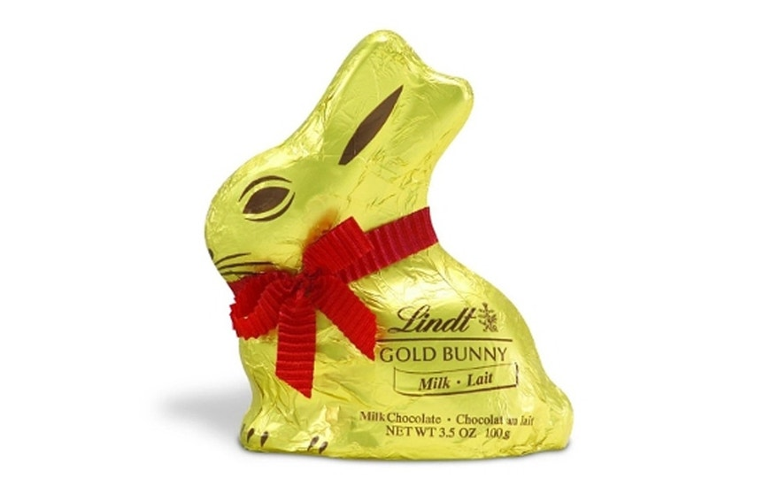 Lindt has been selling chocolate bunnies wrapped in gold foil since 1952.