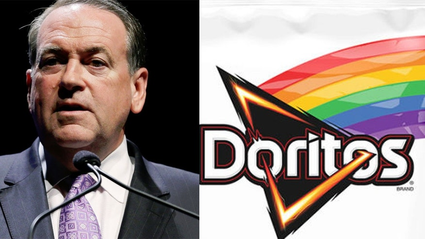 In a letter,  former Arkansas Governor Mike Huckabee asked Frito Lay to end its relationship with the group and the group's outspoken leader, Dan Savage.