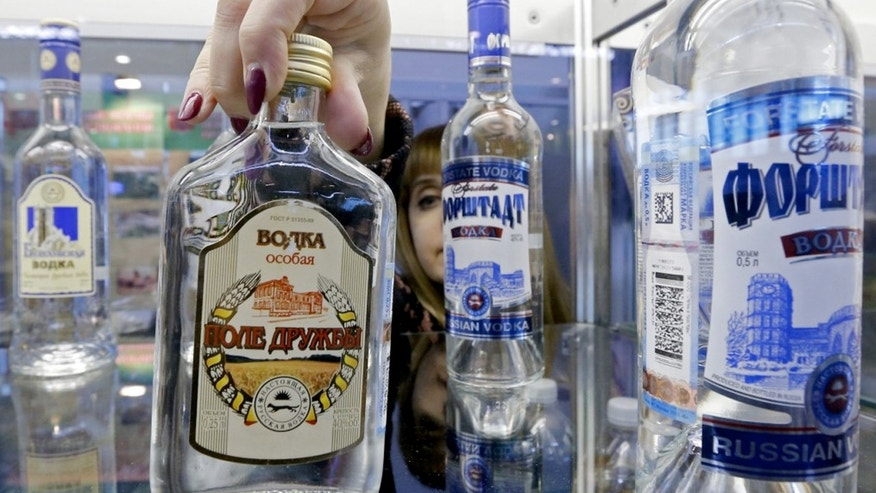 """Lawmaker, Alexei Mishin, suggested an """"abstinence day"""" for vodka."""