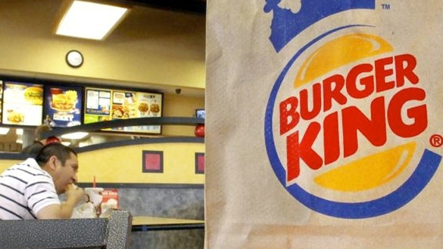 One Burger King franchise owner in Garwood, New Jersey is responding to McDonald's all-day breakfast by serving breakfast foods all day. The location is across from McDonald's.
