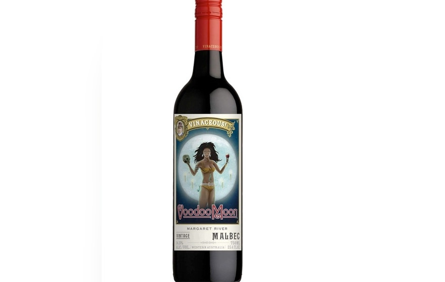 This wine has a deep, inky purple color and brooding, perfumey aromas of dark fruit and spice.