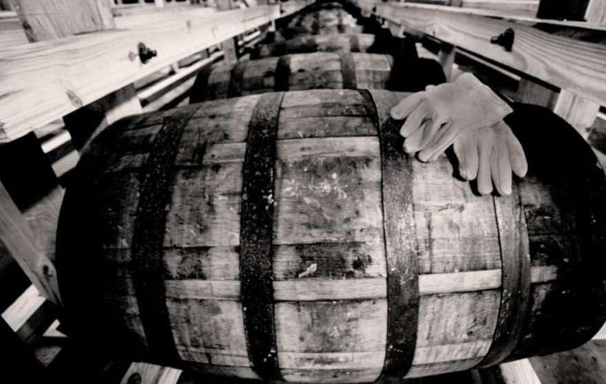 Aging brandy in bourbon barrels and new American oak is part of what creates the Copper & Kings DNA, says owner Joe Heron.