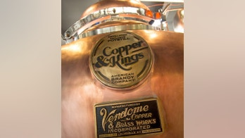 Handcrafted pot stills by Louisville's legendary Vendome Copper & Brass Works are part of the all-American vibe at Copper & Kings.