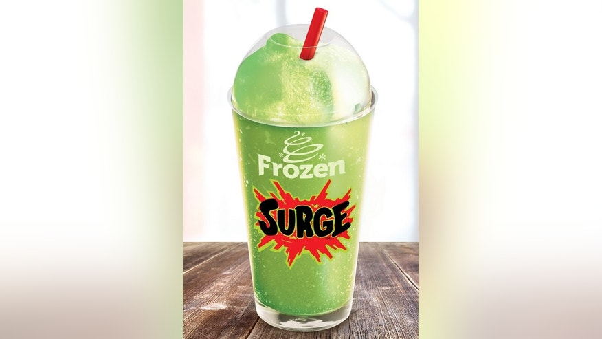 Frozen Surge is an icy twist on the 90s cult favorite soda.