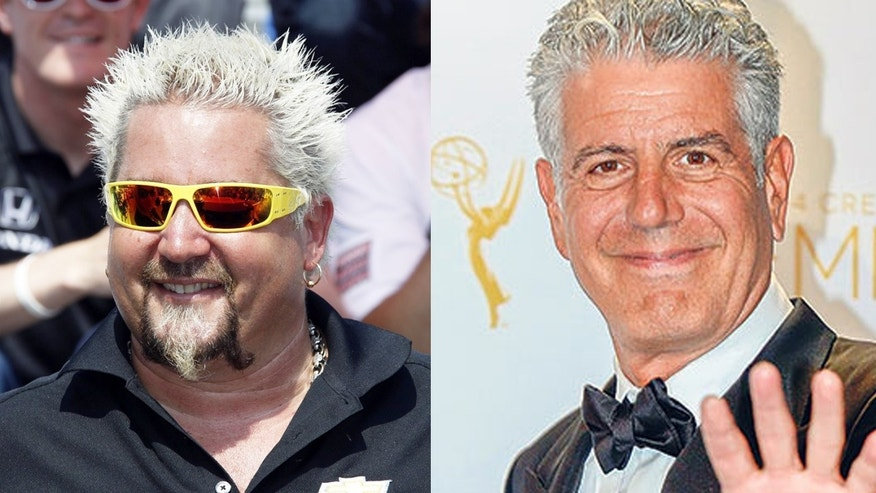 Celebrity chef smackdown: Fieri fires back at Bourdain.